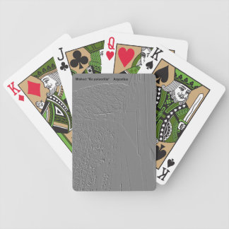 """Viaduct """"polvorilla"""" (Relief design) Bicycle Playing Cards"""