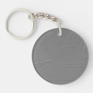 """Viaduct """"polvorilla"""" (Relief design) Keychain"""