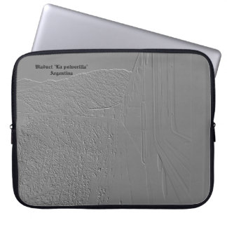 "Viaduct ""polvorilla"" (Relief design) Laptop Sleeve"