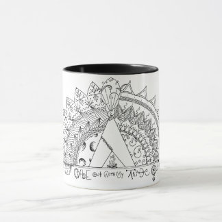 Vibe Out with My Tribe Out Mug