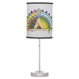 Vibe Out with my Tribe Out rainbow Table Lamp