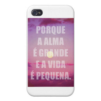 Vibe VIDA marries for iphone 4 SMALL GREAT SOUL iPhone 4/4S Covers