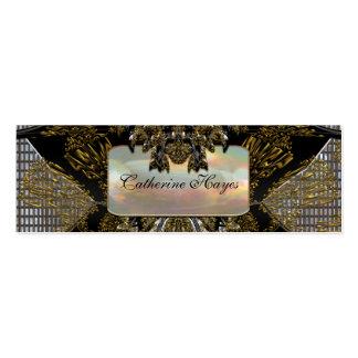 Vibetto Skinny Elegant Professional Business Card Templates