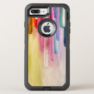 Vibrant Abstract Painting OtterBox Defender iPhone 8 Plus/7 Plus Case
