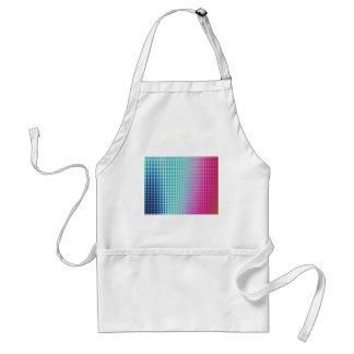 Vibrant Abstract Tiles Standard Apron