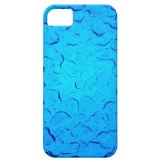 Vibrant Aquamarine Turquoise Rain on glass iPhone 5 Covers