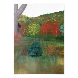Vibrant Autumn Magnet