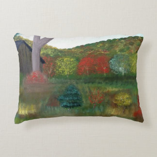 Vibrant Autumn Throw Pillow