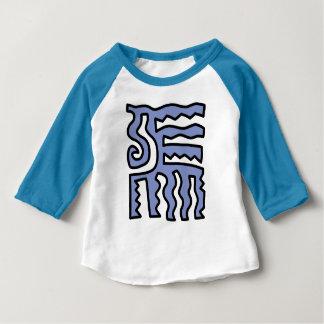 """Vibrant"" Baby 3/4 Raglan T-Shirt"
