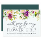 Vibrant Bloom | Will You Be My Flower Girl Card