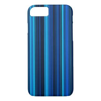 Vibrant Blue Lines iPhone 7 Case