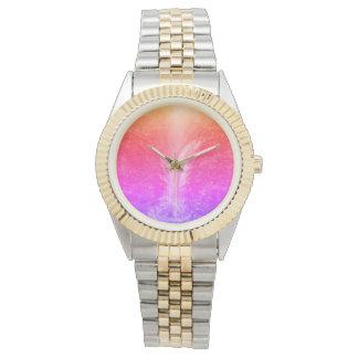 """Vibrant Bright Tranquil Waterfall"" Wrist Watch"