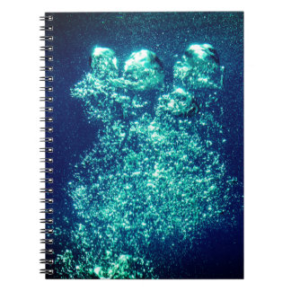 Vibrant Bubbles Notebook