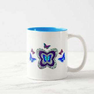Vibrant Butterflies Mug