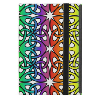 Vibrant Celtic Knot CHOOSE YOUR OWN BACKGROUND iPad Mini Cover