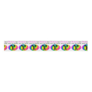 VIBRANT CHEERLEADER GROSGRAIN RIBBON