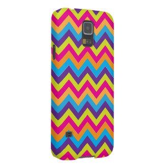 Vibrant Chevrons Galaxy S5 Case