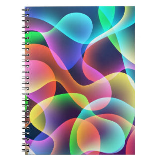 Vibrant Collection Spiral Note Book