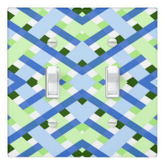Vibrant color Geometric pattern Light Switch Cover