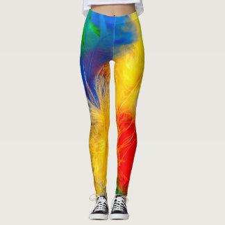 Vibrant Color Leggings