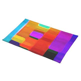 Vibrant Colors Placemat