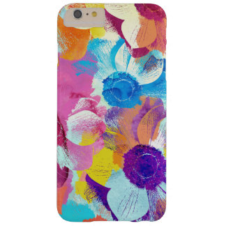 Vibrant Colors Watercolor Painted Anemone Flower Barely There iPhone 6 Plus Case
