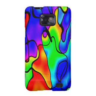 Vibrant colour samsung galaxy SII covers
