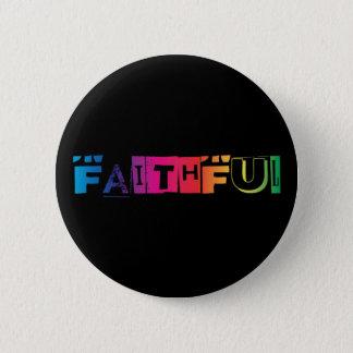 Vibrant Faith 2 Inch Round Button