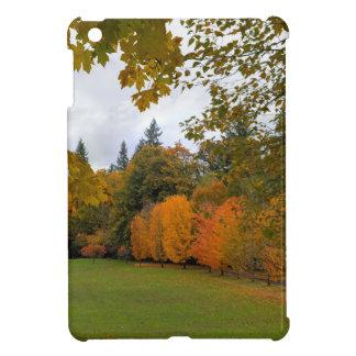 Vibrant Fall Colors in Oregon City Park Case For The iPad Mini