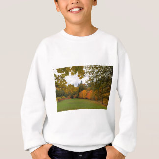 Vibrant Fall Colors in Oregon City Park Sweatshirt
