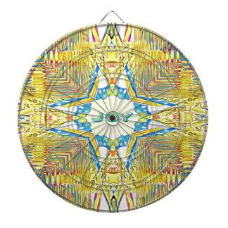 "Vibrant Festive Inspirational ""JOY"" Uncommon Dartboard"