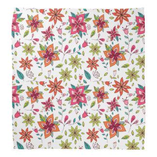 Vibrant Floral and Bird Patterns Bandannas