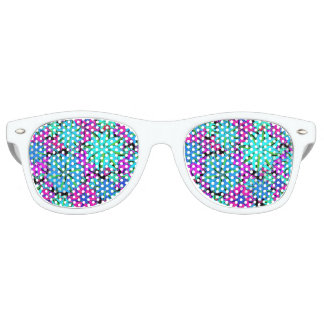 Vibrant Floral Collage Sunglasses