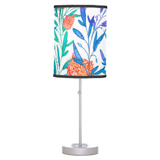 Vibrant Floral Table Lamp