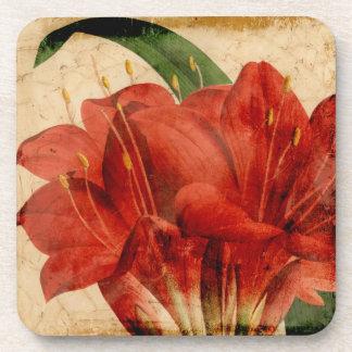 Vibrant Floral VIII Coaster