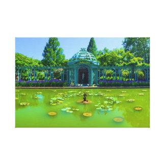 Vibrant Fountain Canvas Print