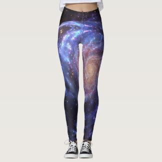Vibrant Galaxy Leggings
