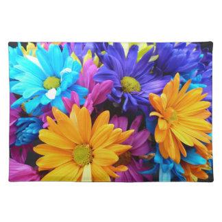 Vibrant Gerbera Daisy Bouquet Placemat