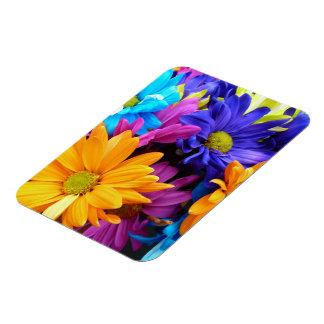 Vibrant Gerbera Daisy Bouquet Vinyl Magnets