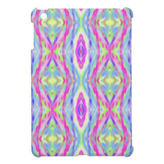 Vibrant Girly Spring Pastel Tribal Pattern iPad Mini Covers