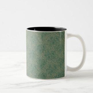 Vibrant Green Two-Tone Coffee Mug