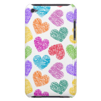 Vibrant hearts iPod Touch Case-Mate