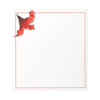 Vibrant Hibiscus Flower Notepad