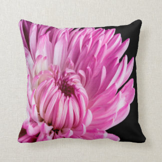 Vibrant in Pink Dahlia Throw Pillow