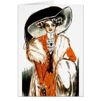 Vibrant Lady Card