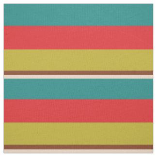 Vibrant Large Palette Stripes Fabric
