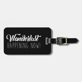 Vibrant Life Luggage Tag Wanderlust - Black/White