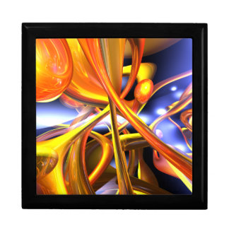 Vibrant Love Abstract Gift Box