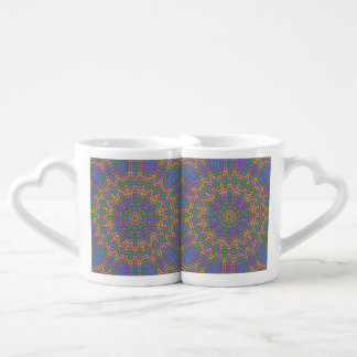 Vibrant Mandala 2 Coffee Mug Set