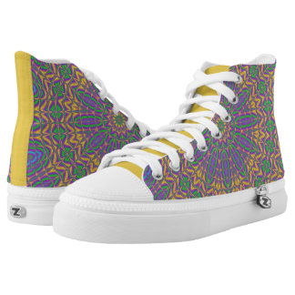 Vibrant Mandala 2 High Tops